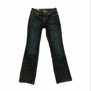 Banana Republic boot cut dark wash jeans size 4